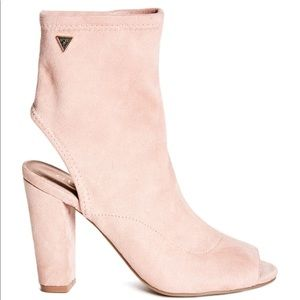 GUESS Pink Dorrell booties